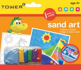 Tower Kids Sand Art - Boat