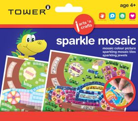 Tower Kids Sparkle Mosaic - Car