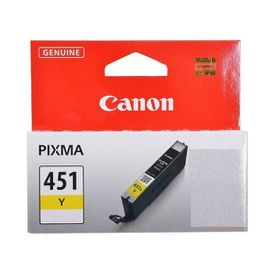 Canon CLI-451 Dye Ink Cartridge - Yellow