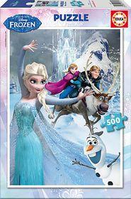 Educa Frozen Cardboard Puzzle - 500 Piece