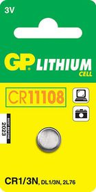 GP Batteries 3V CR1/3N Lithium Coin Battery