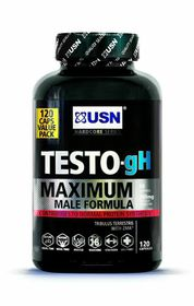 USN Testo-gH Maximum Male Formula - 120 Capsules