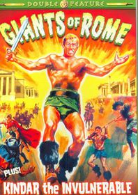Giants of Rome/Kindar the Invulnerabl - (Region 1 Import DVD)