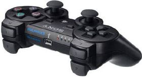 PS3 Controller Dualshock 3 - Black (PS3 Accessory)