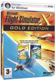 Microsoft Flight Simulator X Gold (PC DVD-ROM)
