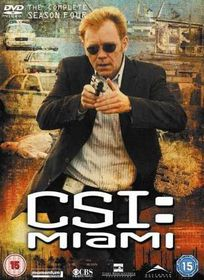 CSI Miami: Complete Season 4 (DVD)