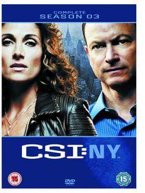 CSI New York Complete Season 3 (DVD)