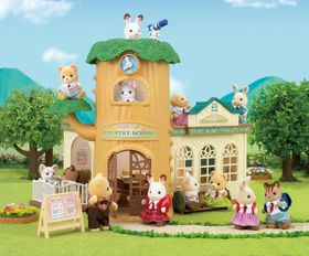 Sylvanian Family Country Tree School