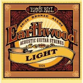 Ernie Ball 2004 Earthwood Light 80/20 Bronze Acoustic String Set (11 - 52)