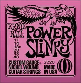 Ernie Ball 2220 Power Slinky Nickel Wound Set (11 - 48)