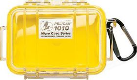 Pelican 1010 Micro Clear Case - Yellow
