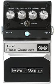 DigiTech TL-2 Hardwire Metal Distortion Guitar Effects Pedal