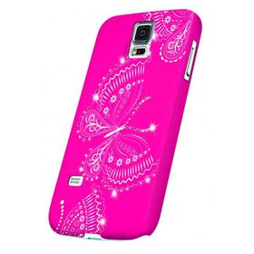 OXO Bling Butterfly Cover for S5 - Pink
