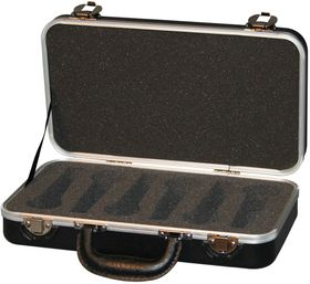 Gator GM-6-PE ATA Molded Case for 6 Microphones