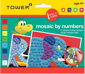 Tower Kids Mosaic by Numbers - Elephant