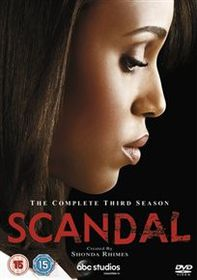 Scandal: The Complete Third Season (Import DVD)