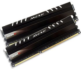 Avexir 8GB DDR3 1600MHz Core Desktop Memory (2 x 4GB) - Blue