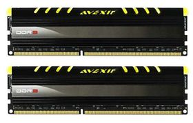 Avexir 8GB DDR3 1600MHz Core Desktop Memory (2 x 4GB) - Yellow