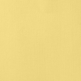 American Crafts Cardstock 12x12 Textured - Banana