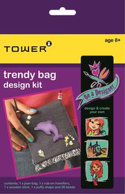 Tower Kids Be A Designer - Trendy Bag Design Kit