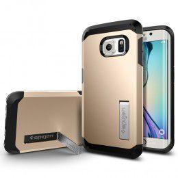 Spigen Case Tough Armor for Samsung S6 Edge - Champagne Gold