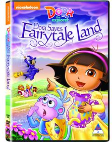 Dora The Explorer: Saves The Fairytale Land (DVD)