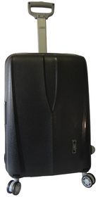 Voss Polyprop Spinner Hard Case With TSA Lock 67cm - Black