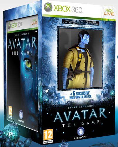 James Cameron S Avatar The Game : James cameron s avatar the game collectors edition xbox