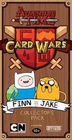 Adventure Time Card Wars Finn vs Jake