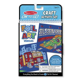 Melissa & Doug Foil Art - Vehicles