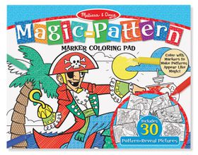 Melissa & Doug Blue Magic Pattern Colouring Pad