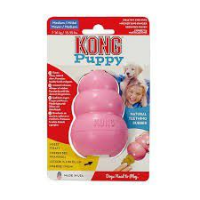 Kong Puppy Toy - Small - Pink