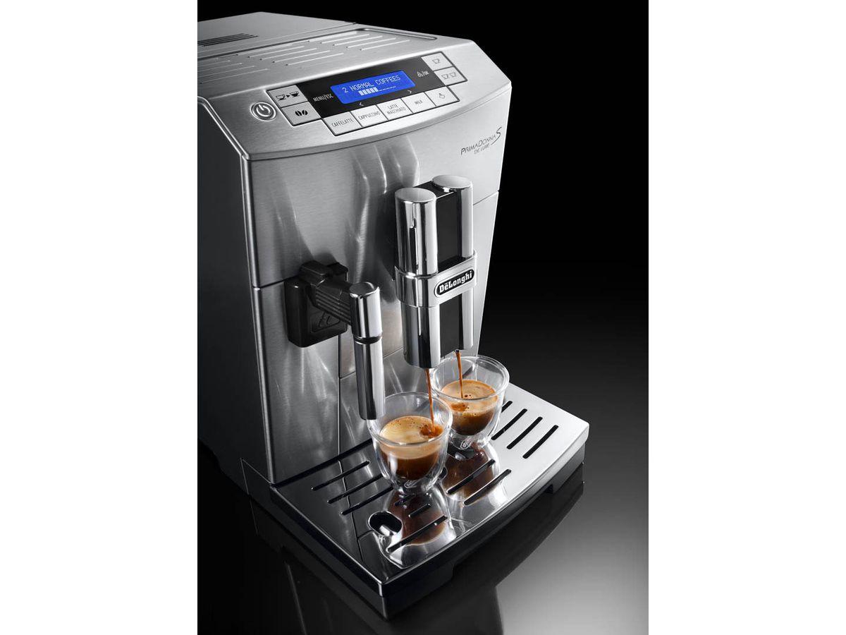 Electronic Prima Donna Delonghi Coffee Machine delonghi prima donna s deluxe coffee machine 8004399325098 machine
