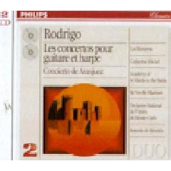 Rodrigo / duo - Complete Concerto For Guitar & Harp (CD)