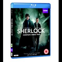 Sherlock Series 2 (Import Blu Ray)