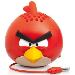 Angry Birds Classic Red Bird Mini Speaker