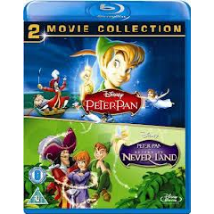 Peter Pan 1 & 2 Box Set (Blu-ray)