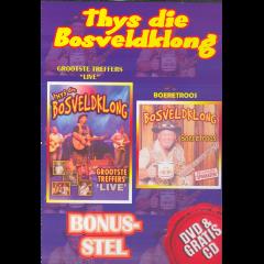 Thuys Die Bosveldklong - Grootste Treffers Live / Boeretroos (DVD + CD)