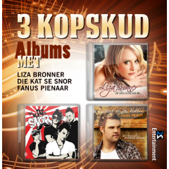 3 Kopskud Albums - Various Artists (CD)