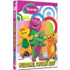 Barney: Welcome Cousin Riff (DVD)