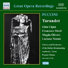 Puccini - Turandot;Ghione (CD)