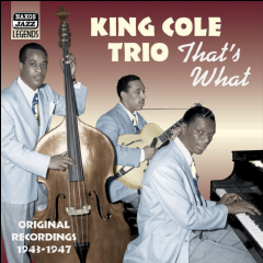 King Cole Trio - That's What (CD)