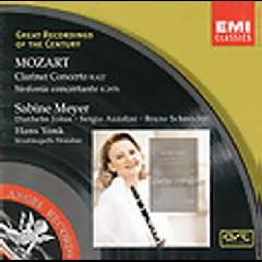 Sabine Meyer / Staatskapelle Dresden - Clarinet Concerto / Sinf Concertante (CD)