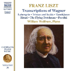 Wolfram, William - Transcriptions Of Wagner (CD)