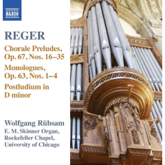 Rubsam, Wolfgang - Organ Works - Vol.15 (CD)