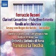 Casani/minguzzi/terranova - Clarinet Concertino (CD)