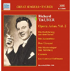 Richard Tauber - Opera Arias - Vol.2 (CD)