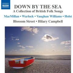 Street, Blossom / Hilary Campbell - Down By The Sea - Collection Of British Folk Songs (CD)