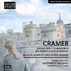 Cramer/Busoni:84 Etudes Eight Etudes - (Import CD)