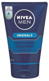 Nivea For Men Deep Clean Foam Wash 100ml (Cleanser)